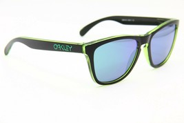 NEW OAKLEY FROGSKINS OO24-414 BROWN AUTHENTIC SUNGLASSES OO 24 FRAME 55-17 - $66.45