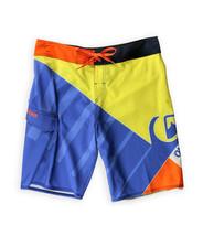 "Quiksilver Mens Pulse 21"" Board Shorts Blue/Yellow - $29.69"
