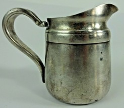 Vintage - Reed & Barton Silver Soldered Creamer w/ # 4016 - 8.5 Ounce We... - $18.99