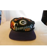Green Bay Packers Super Bowl XXXI Champions Logo Hat Purple and Black - $44.55