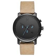 MVMT Watches | Chrono Gun Metal | Sandstone Leather | 45mm - $108.00