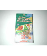 DR. SEUSS' HOW THE GRINCH STOLE CHRISTMAS NEW SEALED VHS RARE HTF OOP   - $9.89