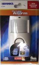 BRINKS 47-1040 Portable Motion Sensor Security Alarm w/ 12' Range - $6.44