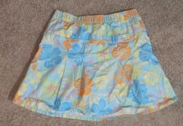 L.L. Bean Hawaiian Floral Flower Girls Skirt Size 10  - $12.19