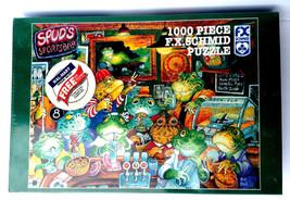 F.X. Schmid Puzzle Spud's Sports Bar Puzzle 1000 Pieces - $29.95