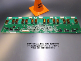 SONY KDL-32M4000 TV Backlight Inverter Board V266-001 4H.V2668.00 [See List] - $18.00