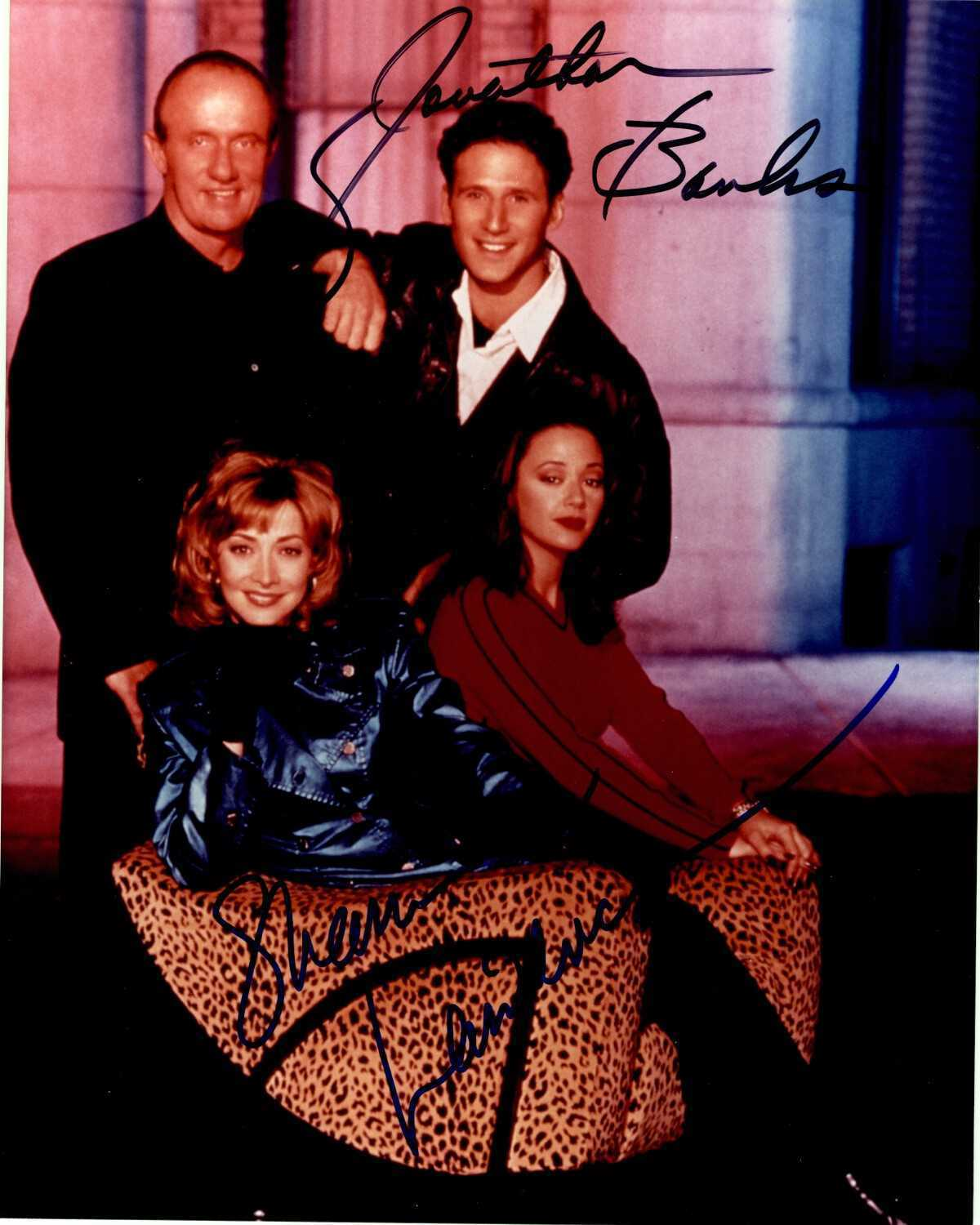 "Primary image for Sharon Lawrence & Jonathan Banks Signed Autographed ""Fired Up"" Glossy 8x10 Photo"
