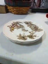 Johnson Brothers English China - 3 Bread Plates -The Old Mill - $5.47