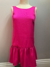BCBG Generation Hotnpink Mini Dress Low Back Sz XXS - $14.85