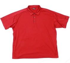 Nike Golf Hommes Gaufré Polo Texturé Pull-Over Performance Fit Sec Mèche T-Shirt - $20.97