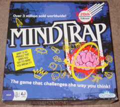 MINDTRAP GAME 20TH ANNIVERSARY EDITION 2012 OUTSET MEDIA COMPLETE EXCELLENT - $20.00