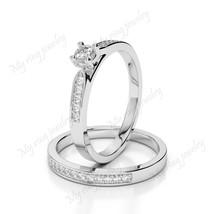 Engagement Ring Wedding Jewelry Bridal Ring Women's 925 Solid White Diamond - $119.99