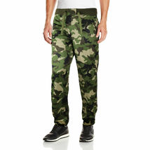 Five Elementz Men's Athletic Work Out Gym Elastic Camouflage Jogger Sweat Pants image 4