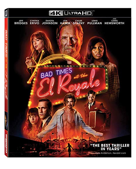 Bad Times At The El Royale (2018) [4K UHD + Blu-ray]