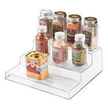 InterDesign Linus Cabinet Organizer Rack – 3-Tiered Storage for Kitchen,... - $15.64