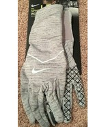 Nike Sphere Running Gloves Womens S Small - Gray Brand New with tags - $22.54