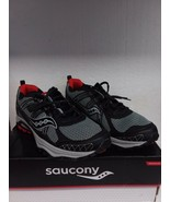 Saucony Grid Excursion TR10 Running Shoe Gry/BLK/Red  Men's Size 10 - $46.54