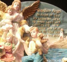 3D Guardian Angel (Plate)   AA20-2113 Vintage image 7