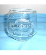 McCormick Imported Genuine Irish Glass Glassware Bar Barware Drinking Clear - $10.93