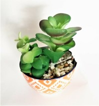 Potted Faux Cactus Plant - Perfect small decor! image 1