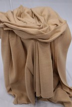 Soft Wool Blanket Throw, Handmade Baby Alpaca Blanket Shawl, Twin Size B... - $87.35