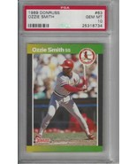 1989 Donruss #63 Ozzie Smith PSA 10 GEM MINT Cardinals - $49.45