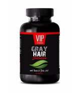 Biotin hair GRAY HAIR SOLUTION. DIETARY SUPPLEMENT Restore natural hair color,1B - $13.06