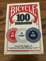 Hobby Bicycle Poker Chip Set. Torn Corner rk - $11.40