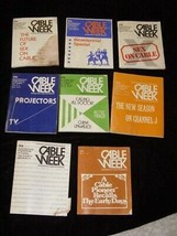 Cable Week Lot Manhattan Cable Programs 1976 - $22.99