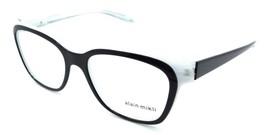 Alain Mikli Rx Eyeglasses Frames A03035 C010 53-17-140 Black Glitter / White Dot - $103.41