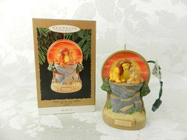 Hallmark Christmas Ornament The Lion King Magic Simba, Sarabi and Mufasa - $17.81