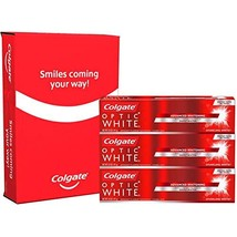 Colgate Optic White Whitening Sparkling Mint Toothpaste, 5 Ounce, 3 Count - $24.95