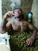 Ty Dolla Sign Weed Bath Poster 24 X 36 Inches Looks Great - $19.94