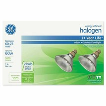 GE Energy-Efficient Halogen 60 Watt PAR38 Floodlight - 2PK ( GEL66280 ) image 1