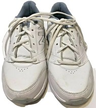 New Balance Womens Size 8B White Walking Comfort Shoes 928V3 Button Lock Laces - $23.82