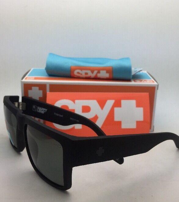 Polarisiert Spy Optic Sonnenbrille Cyrus Weich Matt Schwarz Rahmen W / Happy image 5