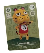 022 - Leonardo - Series 1 Animal Crossing Villager Amiibo Card - $19.99