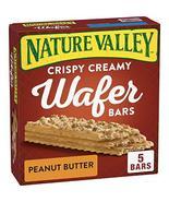 Nature Valley Crispy Creamy Wafer Bars Peanut Butter, 5 ct, 6.5 oz - $9.44
