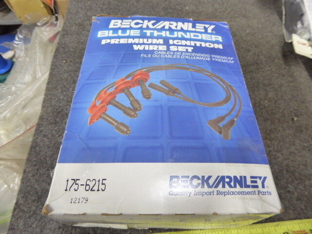 Beck/Arnley 175-6215 Premium Ignition Wire Set New