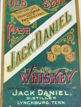 Jack Daniels Old Sour Mash Reissue Label - $21.21