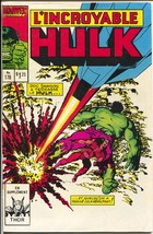 L'Incroyable Hulk #178 1986-Marvel-Thor-French Canadian edition-FN - $37.83