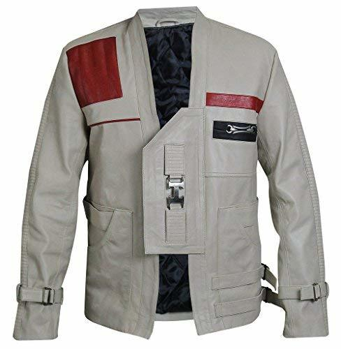 Finn Star Wars Force Awakens John Boyega Leather Jacket
