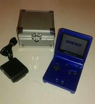 Original Gameboy Advance SP Console Colbalt Blue Minty Condition  - $116.83