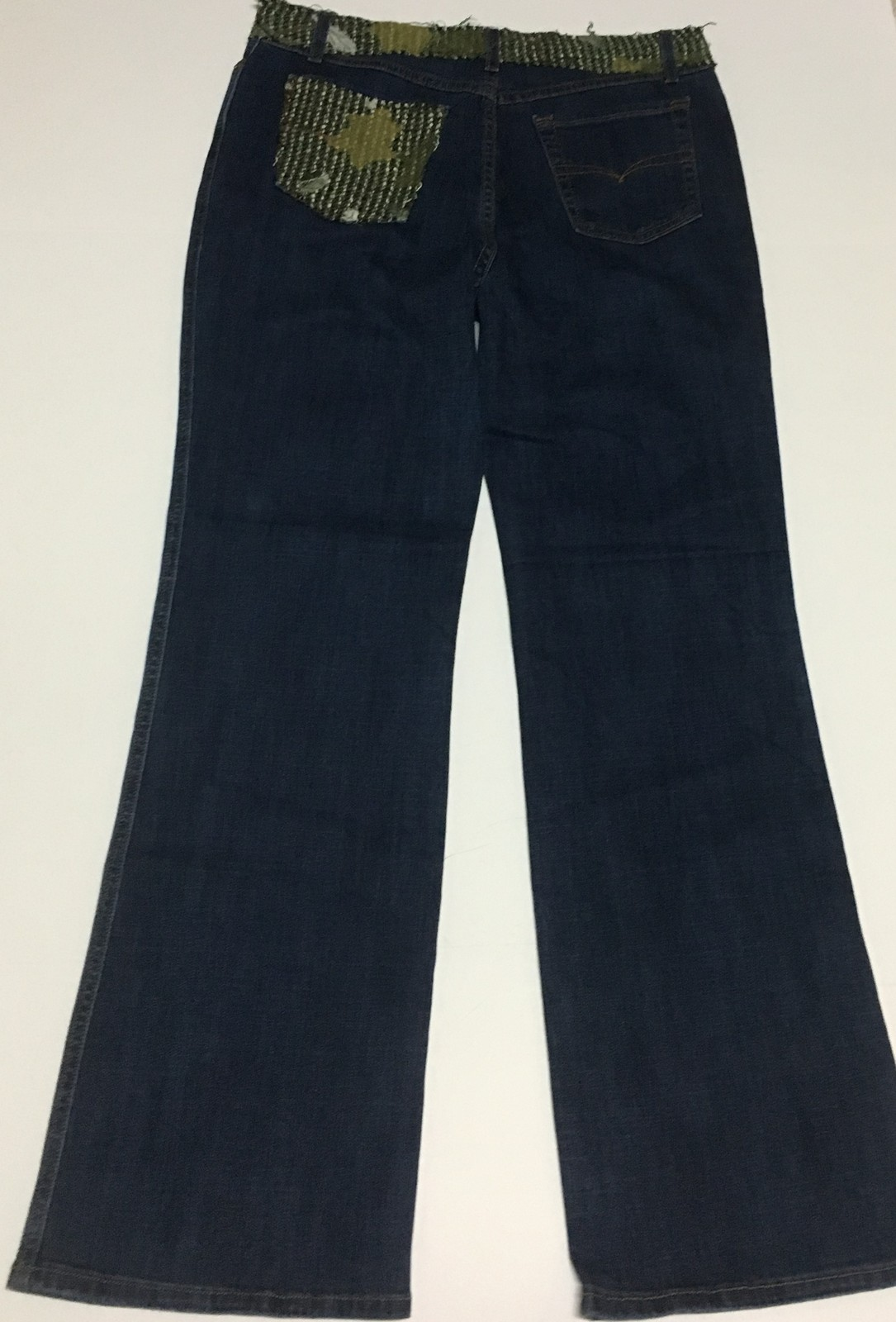 Boho Chic Women's Jeans Sz 12 Flare Made in USA