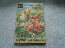 Vintage 1965  Lady Bird Book Reading With Sounds - $7.77