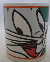 Bugs Bunny Full Face Coffee Mug Looney Tunes Warner Brothers 2000 Gibson... - $14.84