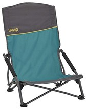 Uquip Sandy XL Beach & Camp Stowaway Chair with High Back, Blue - $95.91