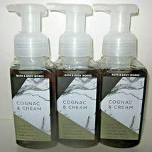 3 soaps Bath & Body Works Hand Soap Gentle Foaming Cognac & Cream - $56.99