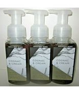 3 soaps Bath & Body Works Hand Soap Gentle Foaming Cognac & Cream - $69.99