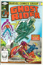 GHOST RIDER #71 HIGH GRADE Marvel Comics 1982 older series Perlin Bulandi - $4.95